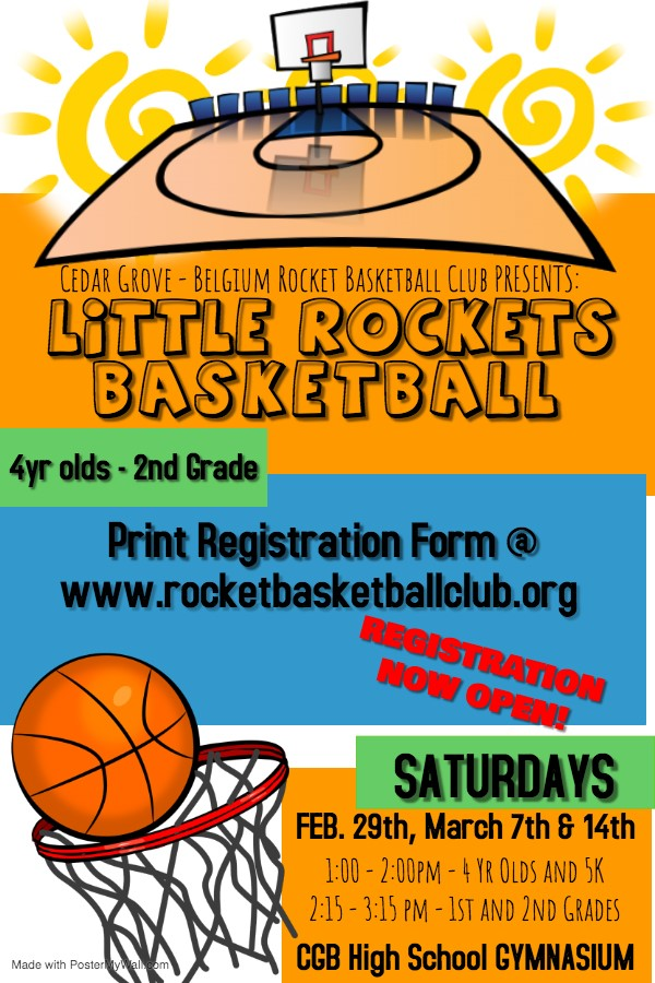 Little Rockets basketball
